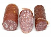 Three Pieces Of The Sausage