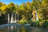 Waterfall Duden at Antalya Turkey - nature travel background
