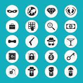 Illegal Activities Icons
