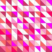 Seamless pink violet and white vector pattern, texture or background.