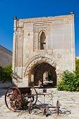 Courtyard of the Sultanhani caravansary on the Silk Road - Turkey