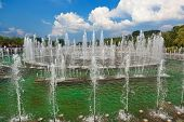 Fountain in Tsaritsino park - Russian museum at Moscow