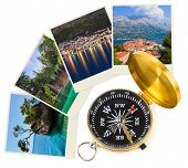 Croatia images and compass - nature and travel (my photos)