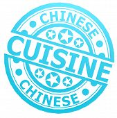 Chinese Cuisine Stamp