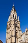 Saint Mary Cathedral of Toledo Spain - religion architecture background