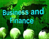 Business And Finance Represents Accounting Company And Earnings