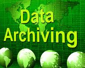 Data Archiving Shows Fact Storage And Catalog