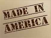 Made In America Represents The United States And Americas