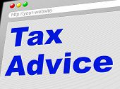 Tax Advice Means Levy Info And Taxation