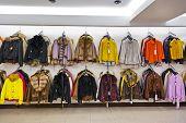 Clothing shop - fashion shopping background