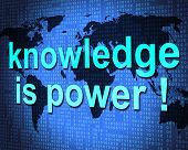 Knowledge Is Power Shows Expertness Comprehension And Tutoring