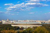 Stadium Luzniki at Moscow Russia - architecture background