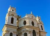 Cathedral in Salzburg Austria - travel background