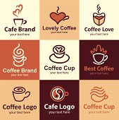 Coffee Icons Vector Set