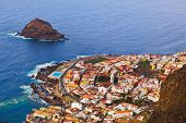Garachico in Tenerife island - Canary Spain