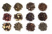 12 varieties of tea