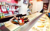 desserts in cafe