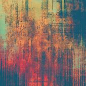 Grunge texture. With brown, red, orange, blue patterns