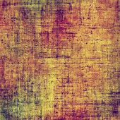 Grunge background or texture for your design. With brown, red, orange, green patterns