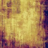 Abstract grunge background of old texture. With yellow, brown, purple, violet patterns