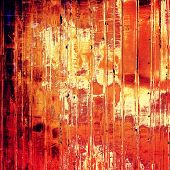 Vintage texture for background. With yellow, brown, red, orange patterns