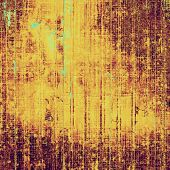 Designed grunge texture or background. With yellow, brown, orange patterns