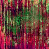 Grunge retro vintage texture, old background. With brown, red, green patterns