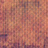 Old designed texture as abstract grunge background. With brown, red, orange patterns