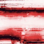 Old texture with delicate abstract pattern as grunge background. With red, white, black patterns