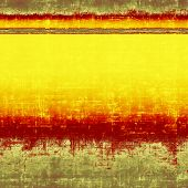 Antique vintage textured background. With yellow, brown, red, orange patterns