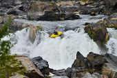 Kayaking in Great Falls National Park, Virginia