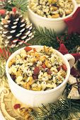Kutia. Traditional Christmas Sweet Meal