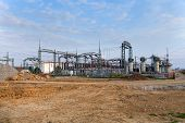 picture of substation  - Building on a high - JPG