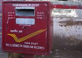 Indian Postal Service Mail Box.