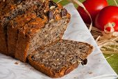 pic of whole-wheat  - Whole Wheat bread baked with pumpkin seeds at home - JPG