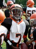 football - little league quarterback