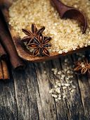 picture of christmas spices  - Baking Ingredients Cinnamon Sticks - JPG