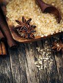 pic of christmas spices  - Baking Ingredients Cinnamon Sticks - JPG