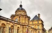 stock photo of senators  - Palais du Luxembourg  - JPG