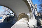 image of sevastopol  - Footbridge on the boulevard in the city of Sevastopol - JPG