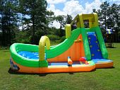 The Bonzai Wipeout Curve Water Slide