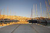 image of piraeus  - Yachts in Mikrolimano marina in Athens - JPG