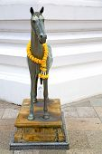 image of winged-horse  - horse in the temple bangkok asia thailand abstract cross colors step wat palaces - JPG
