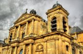 pic of versaille  - View of the Notre-Dame church in Versailles - France