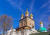 picture of trinity  - Church in the Trinity Sergius Lavra in Sergiev Posad  - JPG
