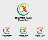 pic of letter x  - X icon logo letter X vector design - JPG
