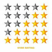 stock photo of starlet  - Five star rating - JPG