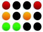 picture of traffic light  - Traffic light  - JPG