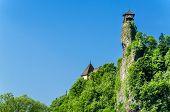 stock photo of castle  - Orava castle tower - JPG