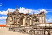 picture of templar  - Templar Convent of Christ in Tomar - JPG